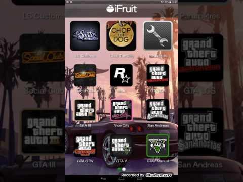 STORE (de rockstar games) SUR IFRUIT