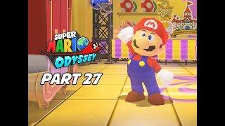 SUPER MARIO ODYSSEY Walkthrough Part 27 - Pixel Mario (Let's Play Commentary)