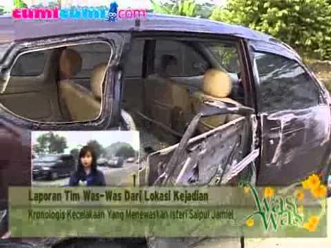 Kronologis Kecelakaan Mobil Saipul Jamil - cumicumi.com