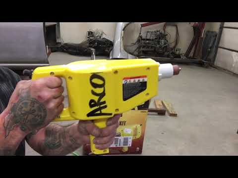 How to use HARBOR FREIGHT stud welding gun