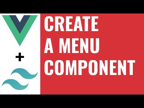 Create a menu component - Build an SPA in Vue Tutorial #3 thumbnail