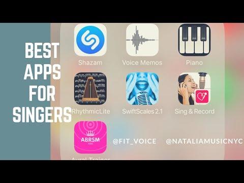 Best Apps for Singers | NATALIA's Online Vocal Studio
