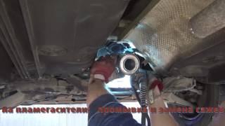 Замена катализаторов на Mitsubishi Lancer. Замена катализаторов на Mitsubishi Lancer в СПб.
