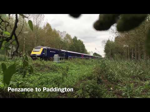 HST diverts on Berks and Hants (Great Western electrification)
