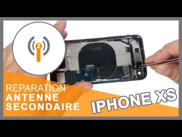 Réparation Antenne secondaire iPhone XS