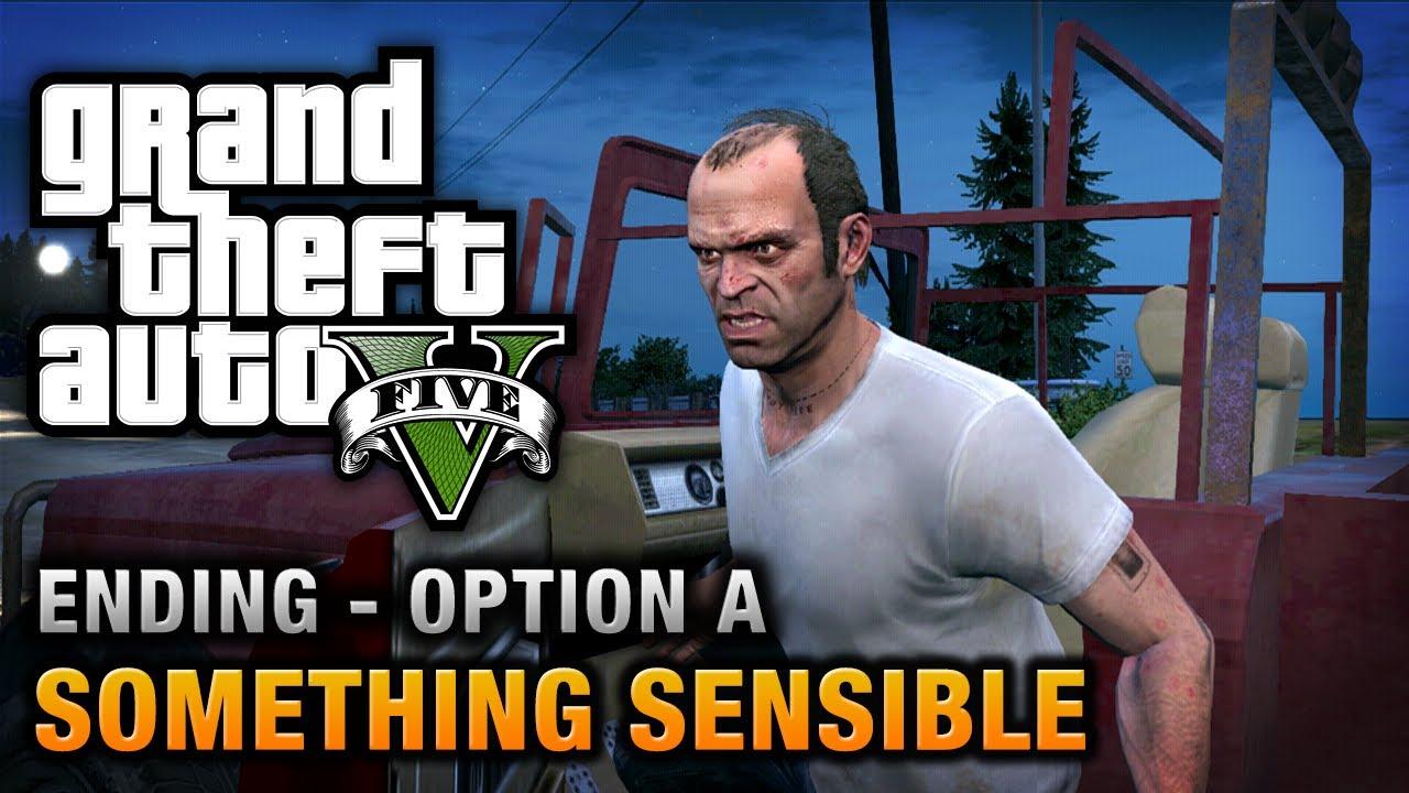 grand theft auto 5 ending c