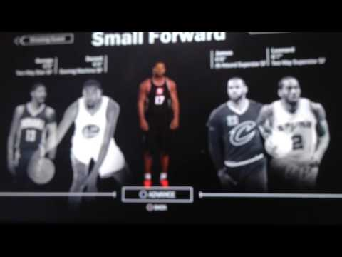 Nba 2k17 the prelude - early mycareer , collage , body types & more
