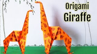 Origami Giraffe : How to Make an Origami Giraffe Step by Step Instructions | Origami Animals