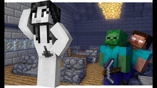 Monster School : Sculpting a Girl Challenge - Minecraft Animation