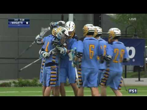 2017 BIG EAST Lacrosse Championship Highlights - Marquette vs. Providence