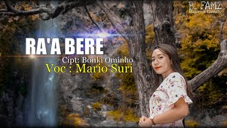 RA'A BERE   Lagu Daerah Bajawa 2021   By: Mario Suri   official Music Vidio