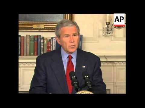 Bush comments on NKorea nuclear test