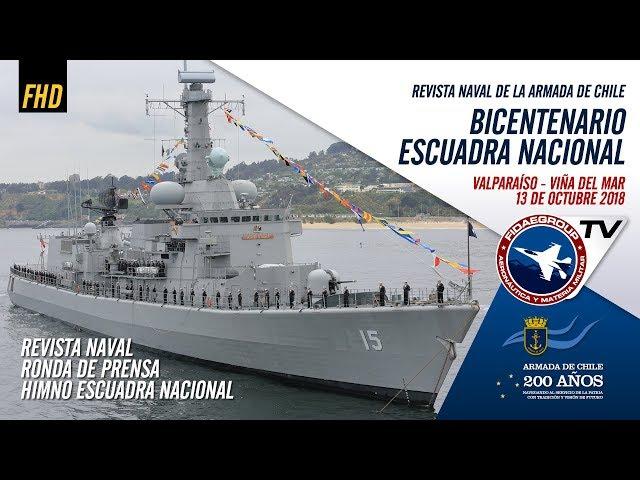 Revista Naval Chile 2018 de la Escuadra Nacional en sus 200 años