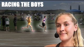 COMMENTATING MY MIDDLE SCHOOL RACE **5:20 mile**