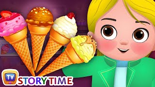 Greedy Little Cussly - Ice Cream - Good Habits Bedtime Stories & Moral Stories for Kids - ChuChu TV