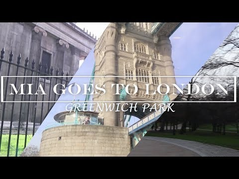 Mia goes to London: Greenwich Park | Travel vlog