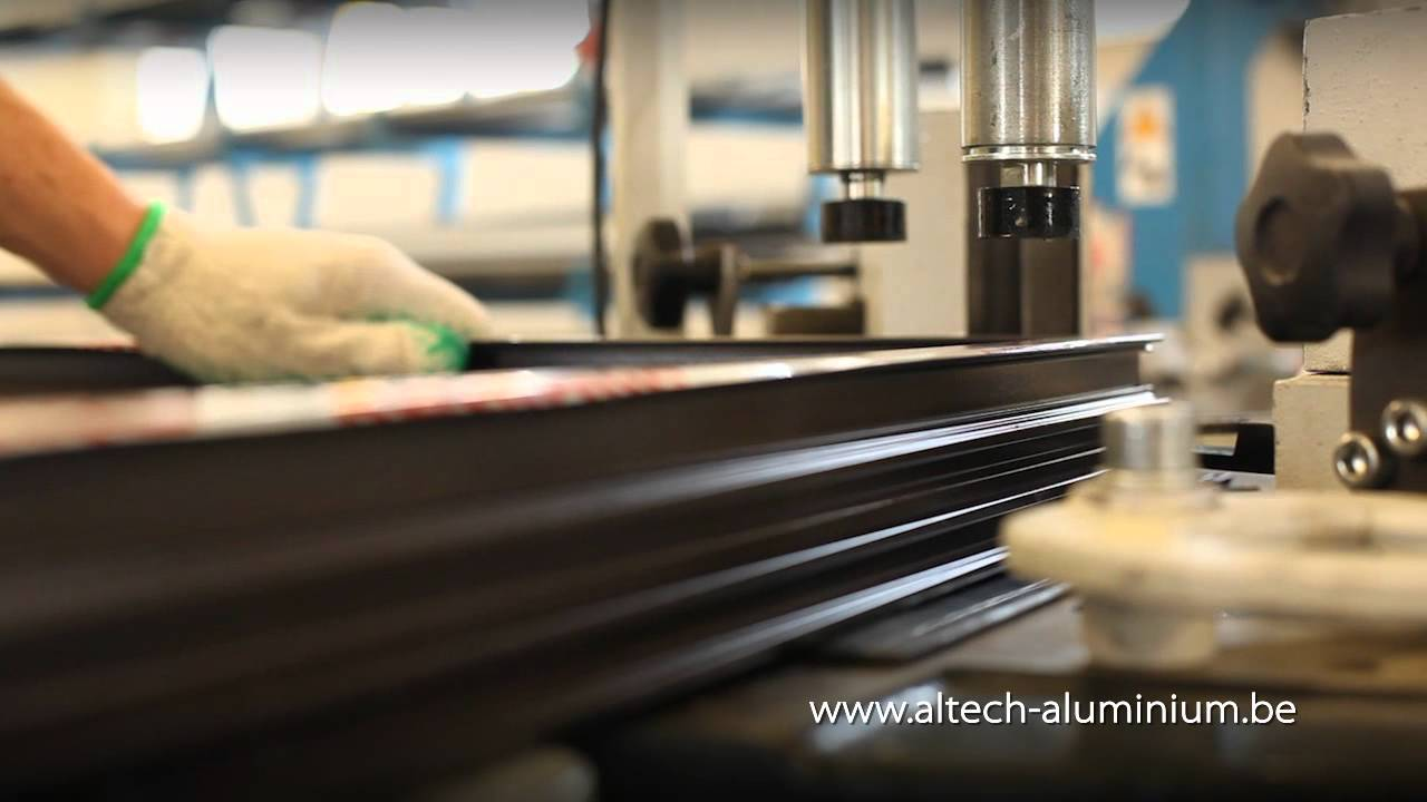 al tech fabrication de menuiserie aluminium youtube