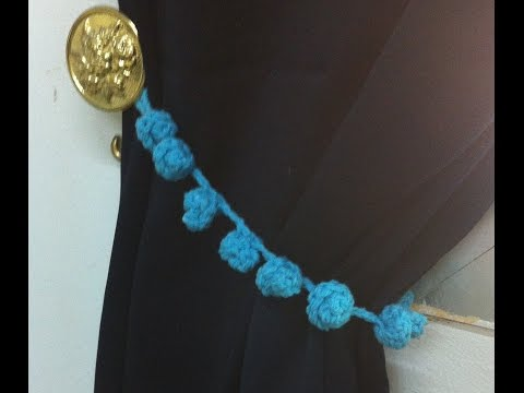 ماسك الستارة Caught curtain crochet