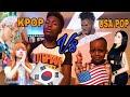 KPOP VS POP END OF 2017 (BTS, JUSTIN BIEBER, NICK ) REACTION