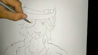 How to draw Anime Girl