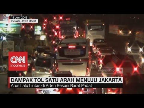 Dampak Tol Satu Arah menuju Jakarta