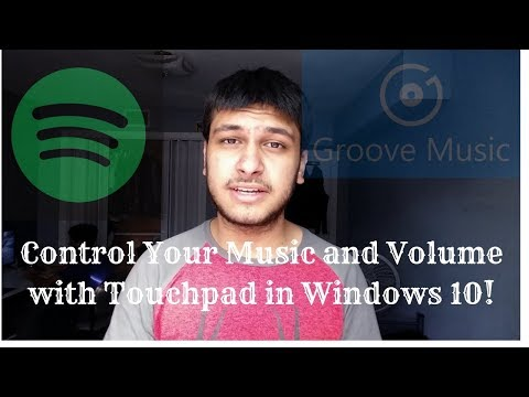 How to Control Music and Volume with Touchpad on Windows 10!!!