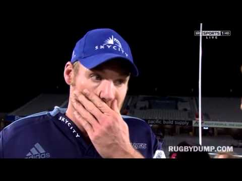 Ali Williams swears in unhappy winning captain interview