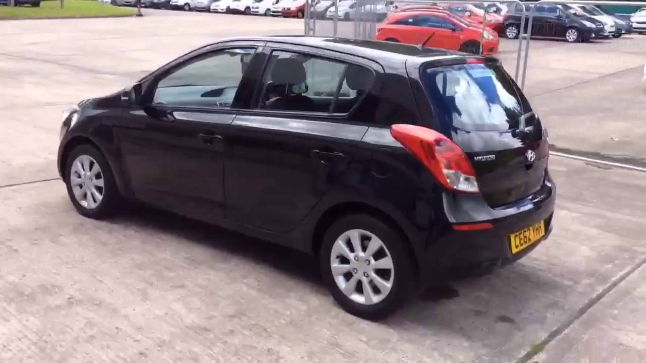 hyundai i20 style black 2012 youtube. Black Bedroom Furniture Sets. Home Design Ideas
