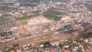 Lądowanie Lublin Airport Lufthansa 3.9.2015 HD + Adnotacje