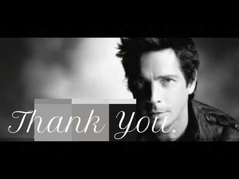 Chris Cornell - Thank you (acoustic with LYRICS) Led Zeppelin cover
