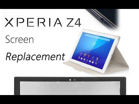 Sony Xperia Z4 Tablet Original Screen Replacement Tutorial / Wymiana Ekranu