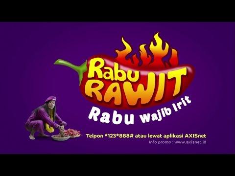 Iklan TV AXIS - Paket Internet di Rabu Rawit IRITnya #EMEJING!