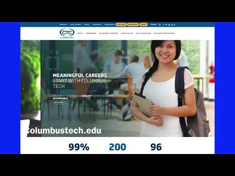 Columbus Technical College Virtual Tour - Overview of programs, tutoring, and resources