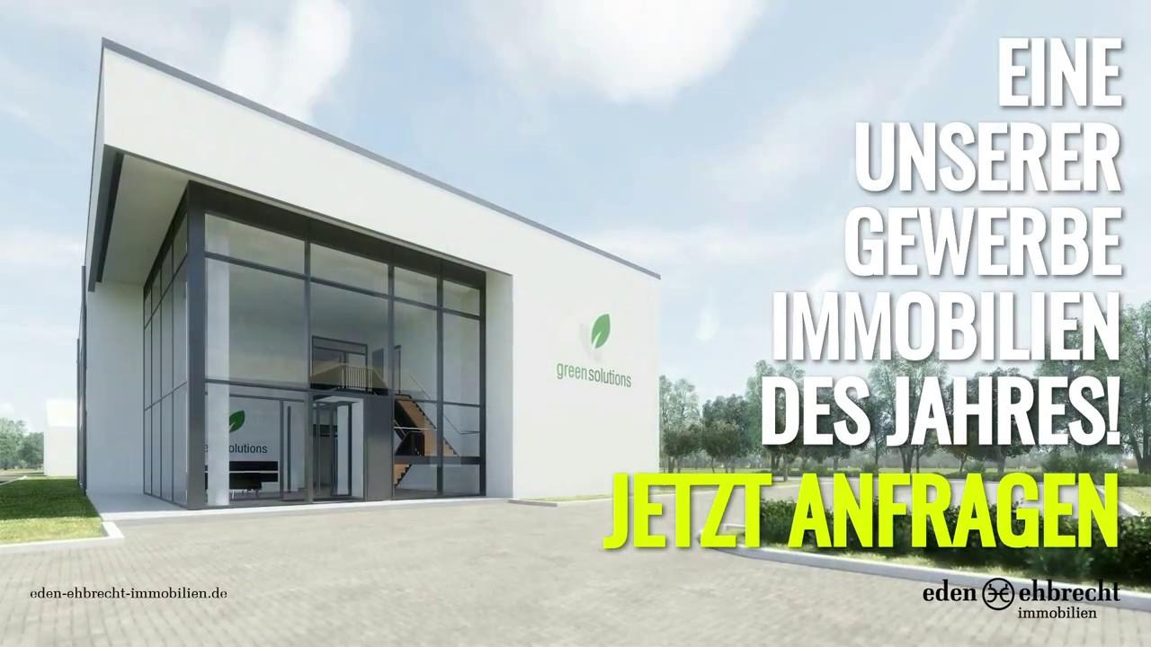Eine unserer Gewerbeimmobilien des Jahres // Büro Neubau bei Bad Zwischenahn - YouTube