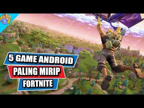 5 Game Android Paling Mirip Fortnite