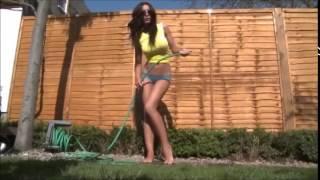Repeat youtube video Amy Jackson Lingerie Hot Boobs Photo Shoot