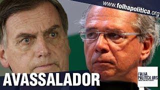 URGENTE: Diante de Bolsonaro, Paulo Guedes faz discurso avassalador sobre BNDES, falcatruas e..
