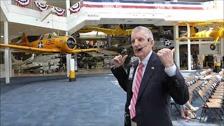 Fighter Pilot Guided Tour of the Naval Aviation Museum - Pensacola, Florida