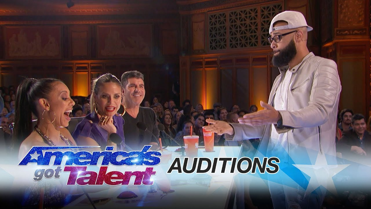 Americas got talent 2017 young magician - Eric Jones Magician Shocks Mel B With Coin Trick America S Got Talent 2017