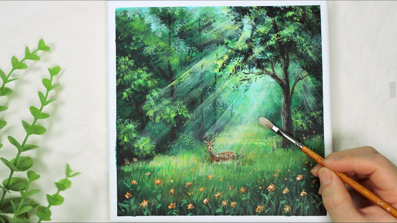Acrylic Painting Ideas - 28 Curated Video Demonstrations & Tutorials | Ken  Bromley Art Supplies
