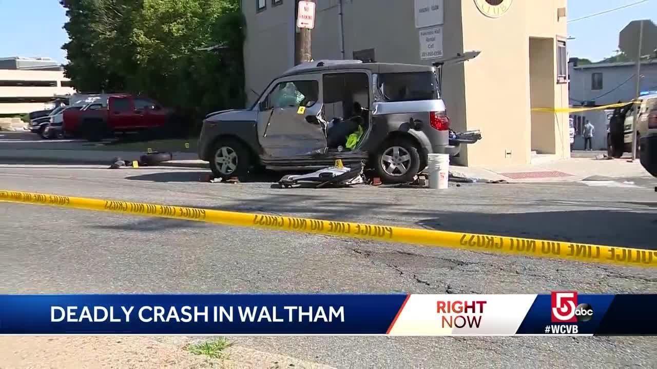 Man killed in Waltham crash