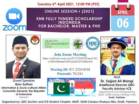 KNB Scholarship Indonesia