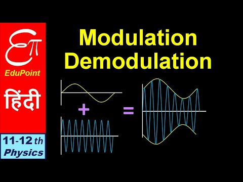 🔴 MODULATION - DEMODULATION || AMPLITUDE 🆚 FREQUENCY || Communication System - Part 4 || In HINDI