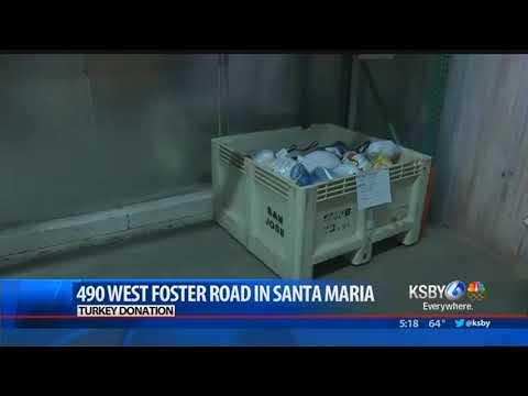 Foodbank of Santa Barbara County in need of turkeys for Thanksgiving