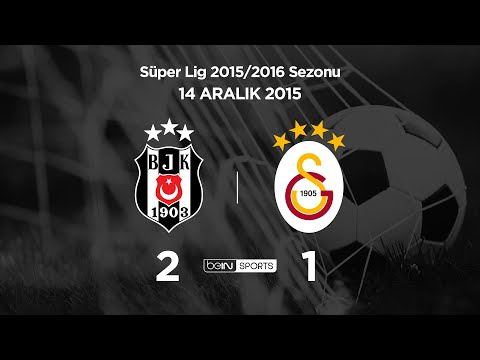 14.12.2015 | Beşiktaş-Galatasaray | 2-1