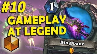 Boomsday Kingsbane Rogue - Gameplay at Legend #10 (2 matches)