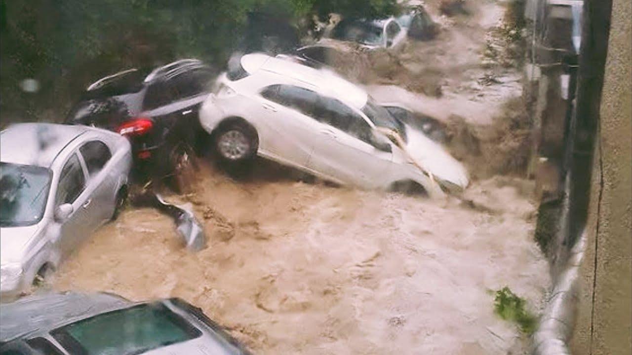 Эпическое наводнение в Ялте и Крыму, введен режим ЧС