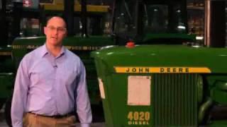 walkthrough of john deere 4020 classic tractor