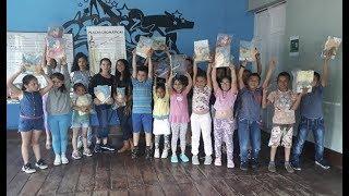 140 niños recibieron colección de libros de la Fundación Nacional Batuta y el Ministerio de Cultura