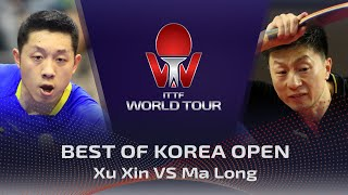 FULL MATCH - Xu Xin vs Ma Long (2016) | BEST of Korea Open
